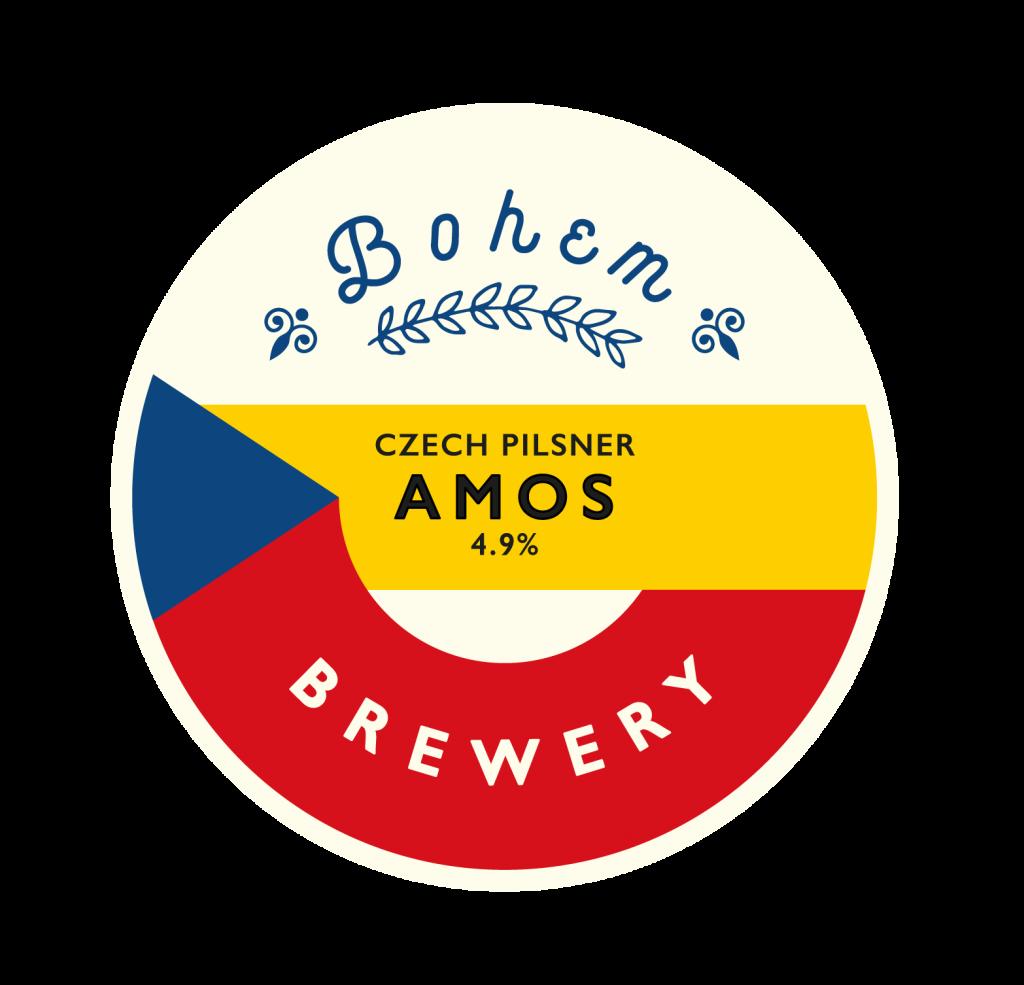 Amos Bohem Brewery Beer