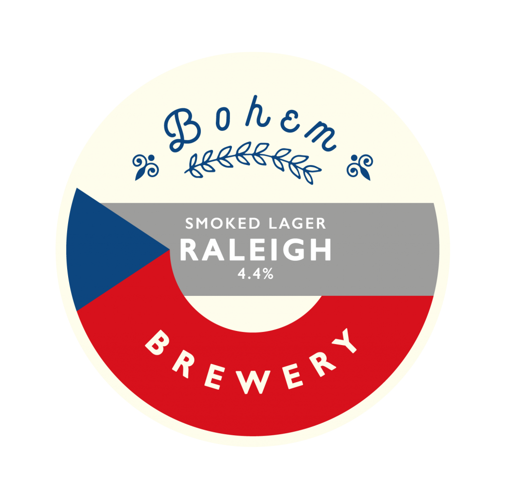 Raleigh Bohem Brewery Beer