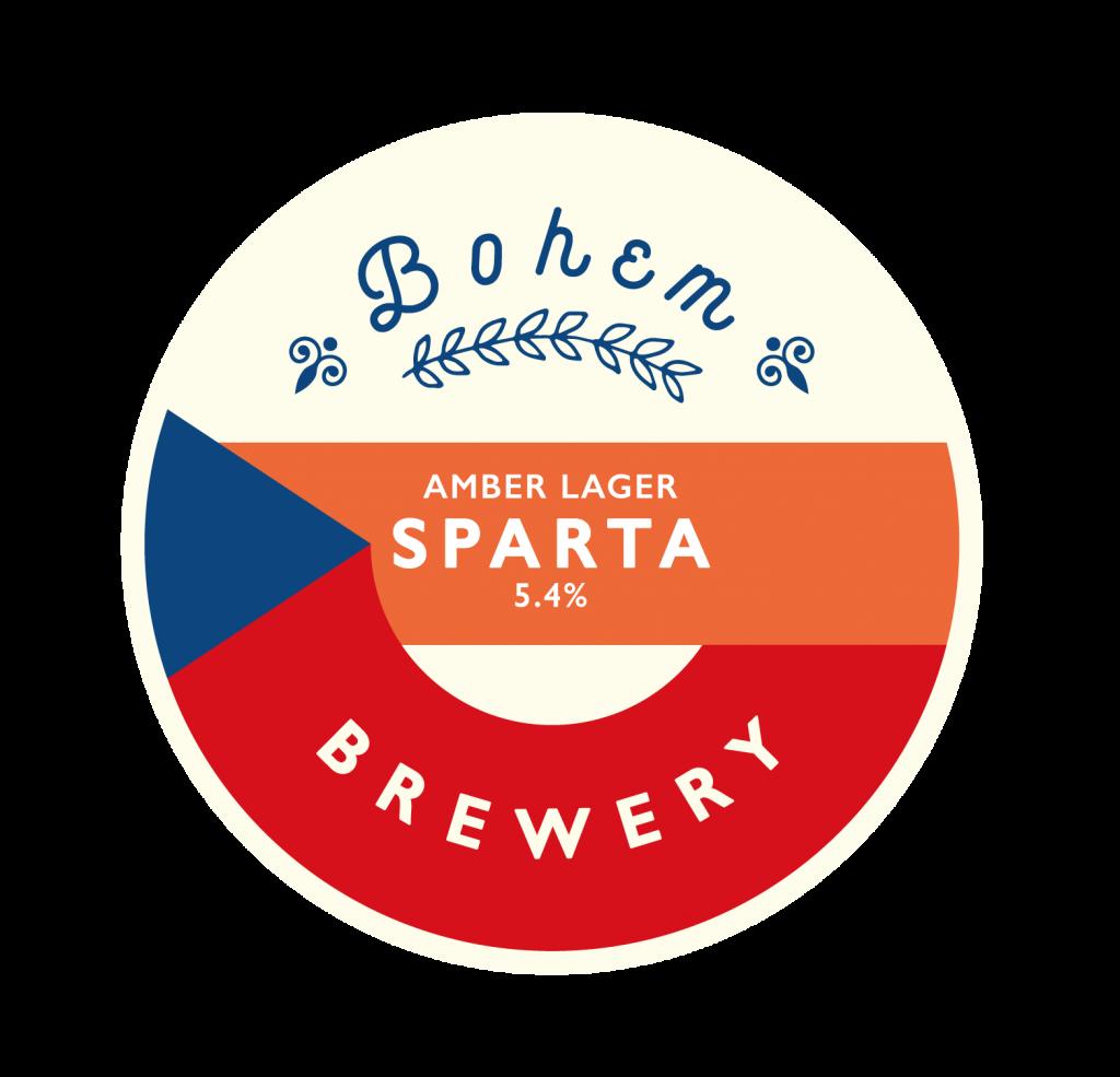 Sparta Bohem Brewery Beer