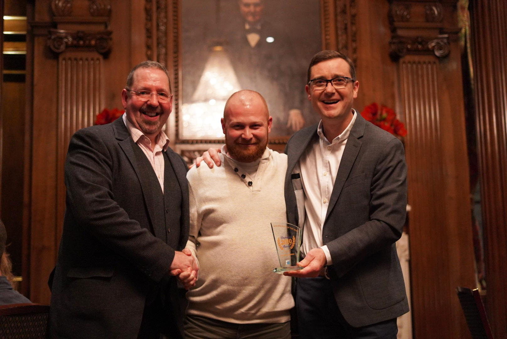 New Brewery of the Year 2019 award presentation
